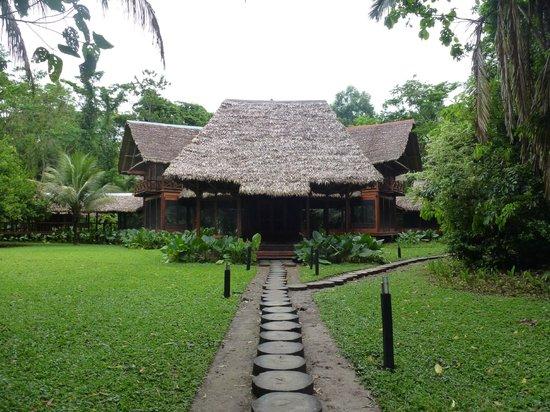 Inkaterra Reserva Amazonica: Main lodge