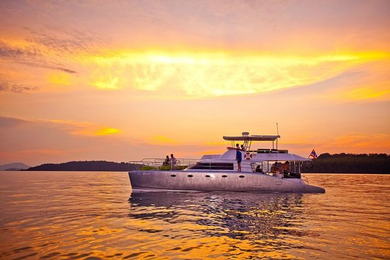 Epic Charters: Sunset off the west coast of Phuket
