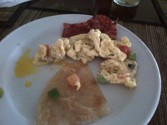 The Tanjung Benoa Beach Resort Bali: selection of breakfast