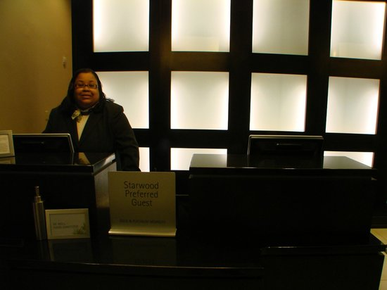 The Westin Richmond: well trained, friendly staff