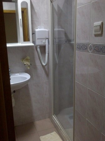 Hotel Marjorie 'Y' : Bathroom with big shower