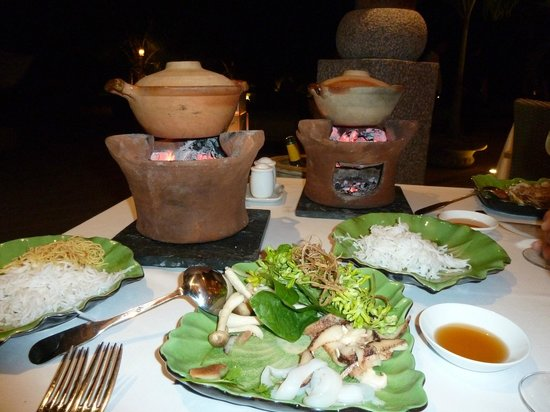 An Lam Ninh Van Bay Villas: Wonderful food