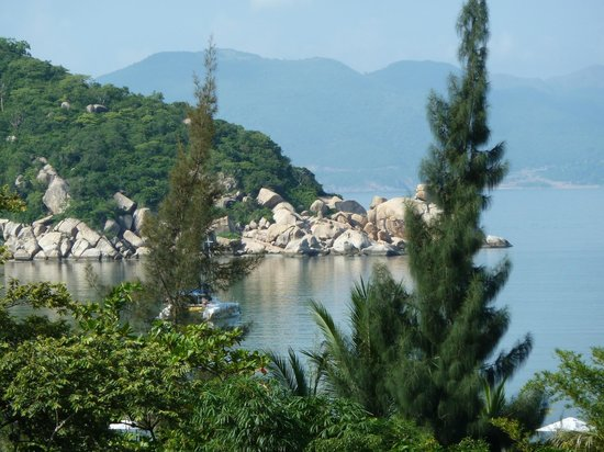 An Lam Ninh Van Bay Villas: View from our villa