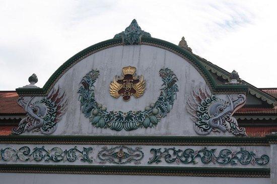 Kraton Yogyakarta: Cross road @ Kraton
