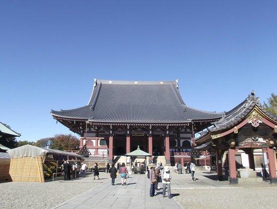 Ota, Japan: 日蓮上人像が祀られている大堂 (祖師堂)