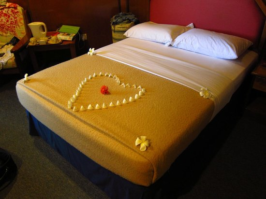Layang Layang Island Resort: Housekeeping decoration