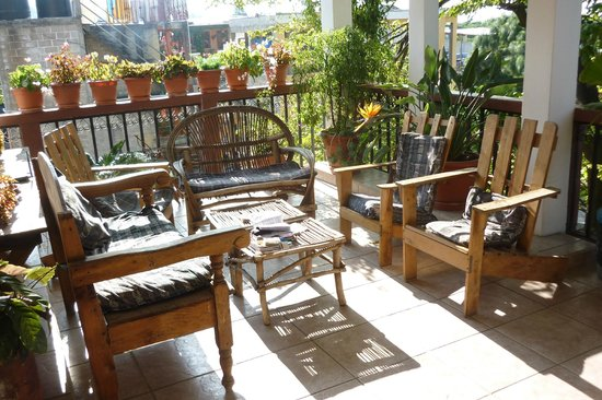Hotel Sueno Real: patio to relax