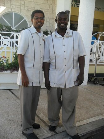 Magdalena Grand Beach & Golf Resort: just a couple of the friendly staff
