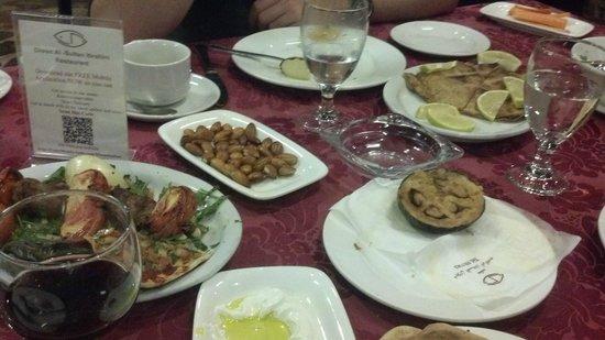 Diwan al Sultan Ibrahim Restaurant : Fried eggplant was simple but delicous.