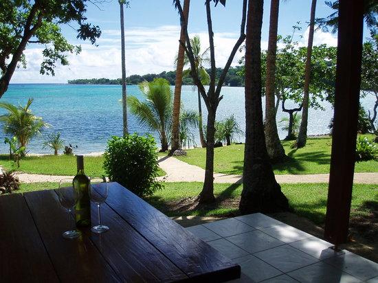 Troppo Mystique: Lagoon Sunset Villa Veranda.