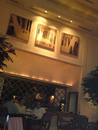 Hotel Borobudur Jakarta: Lobby area