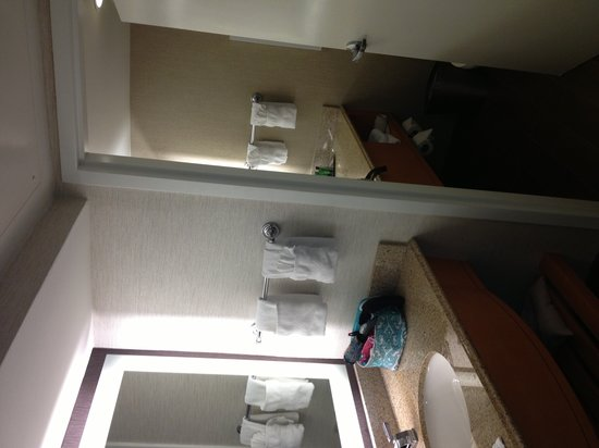 Hilton Marco Island Beach Resort--CLOSED FOR RENOVATIONS; REOPENING DEC. 1, 2017: Bathroom Area