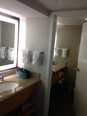 Hilton Marco Island Beach Resort: Bathroom Area
