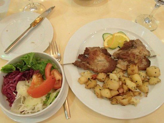 Plitvice Hotel Restaurant: My Meal