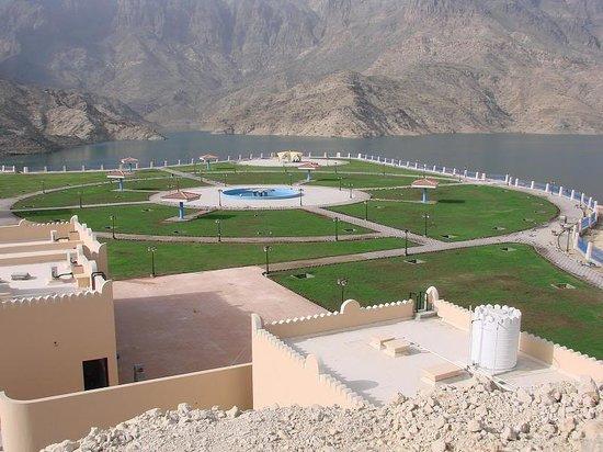 Wadi Dayqah Dam: garden of the dam