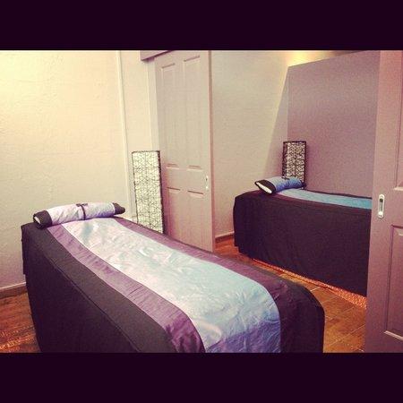 Parawee Thai Massage: Massage room