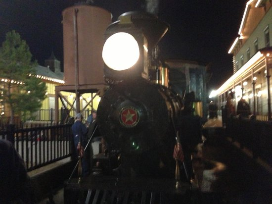 Christmas train - Picture of Christmas Train at Dry Gulch, Pryor ...
