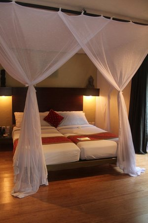 The Villas Bali Hotel & Spa: One of two bedrooms
