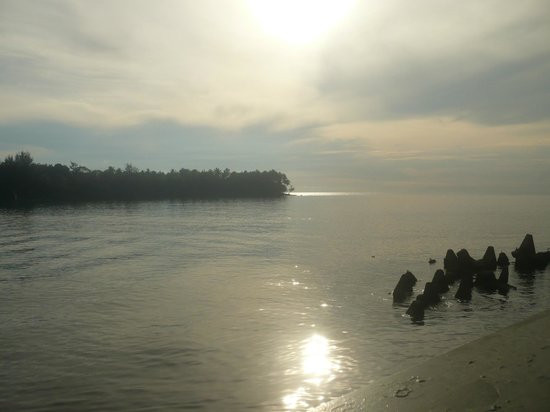 Madang Resort Hotel: View from room