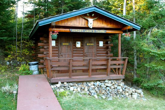Hungry Jack Lodge & Campground: Sauna