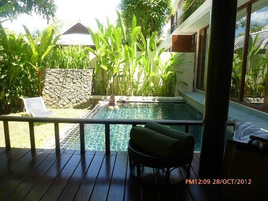 The Sarojin: Our lovely pool villa!