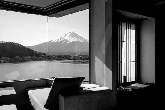 Kozantei Ubuya: view from our room