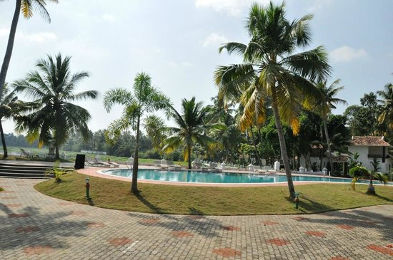The World Backwaters: Pool area