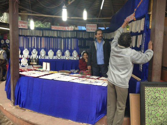 Dilli Haat: Interesteing craft stalls...