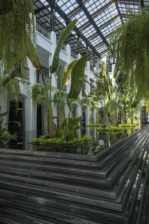 The Siam: atrium in main building