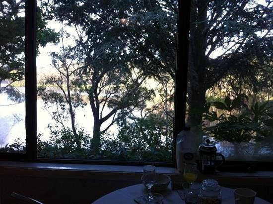 Lakeside Bed and Breakfast: view from the breakfast table