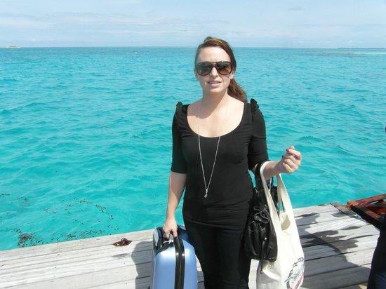 Cinnamon Hakuraa Huraa Maldives: arrivée sur l'île