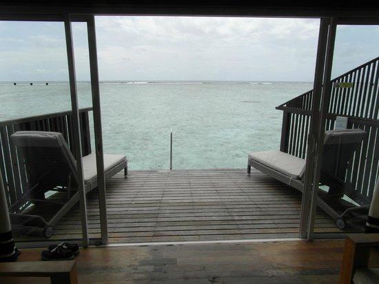 Cinnamon Hakuraa Huraa Maldives: la terrasse