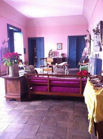 Casa Cuseni B&B: salon