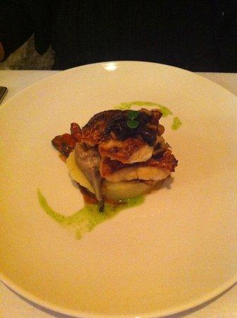 Restaurant Montiel: Fricandó de salmonete