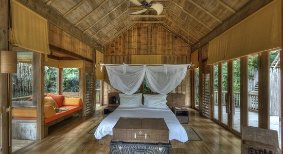 Soneva Kiri Thailand: hillside pool villa bedroom