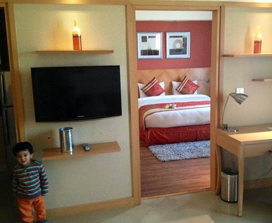 Savoy Suites Manesar : my room