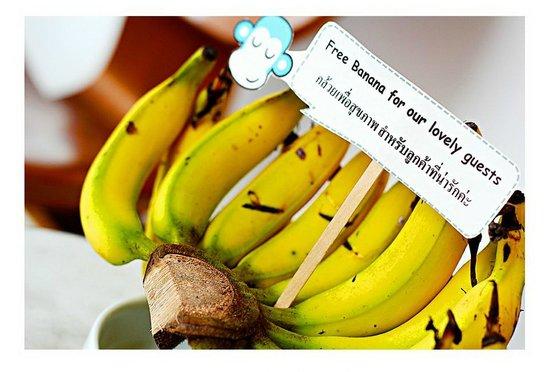 Blu Monkey Bed & Breakfast Phuket: Complimentary !!!