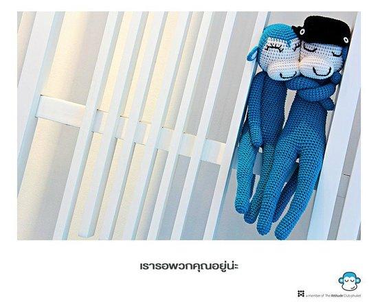 Blu Monkey Bed & Breakfast Phuket : Double Blu Monkeys