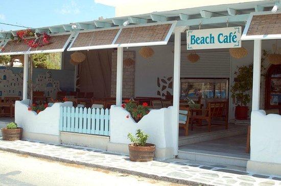 Hotel Paros: Beach Café