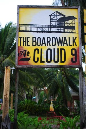 The Boardwalk at Cloud 9: Entrance