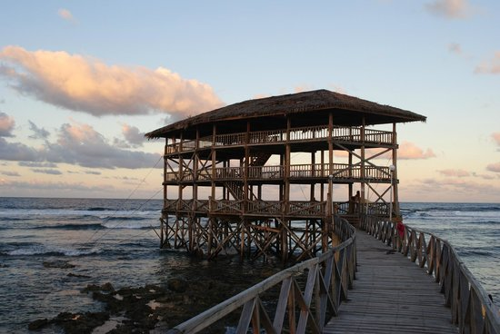 The Boardwalk at Cloud 9: The Actual Boardwalk the resort is named after - directly in front of the grounds