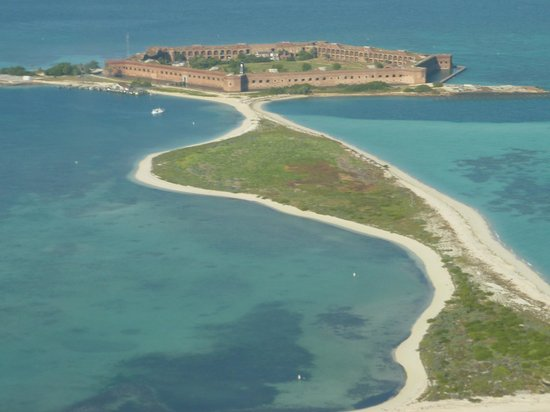 Dry Tortugas National Park: Aerial view