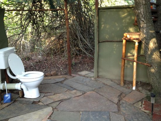 Calao Tented Camp: toilet
