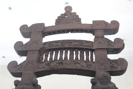 Indian Museum (Jadu Ghar): Torana Gate of Bharhut Stupa.