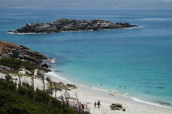Barco Islas Cíes - Cruceros Rias Baixas: Playa de Nuestra Señora