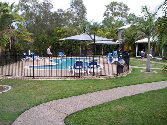 NRMA Treasure Island Resort & Holiday Park: Riverside Villa Pool