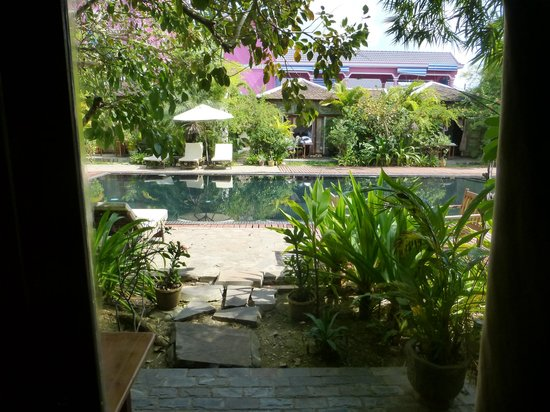 Phka Villa: View from our room
