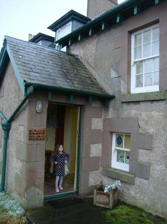 Hendersyde Farm Cottages: Entrance