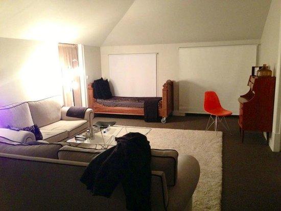 Palacete Chafariz D'El Rei: living room