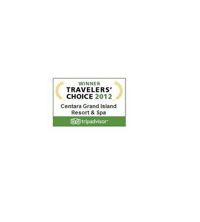 Centara Grand Island Resort & Spa Maldives: Winners Traveller's Choice 2012 by TripAdvisor